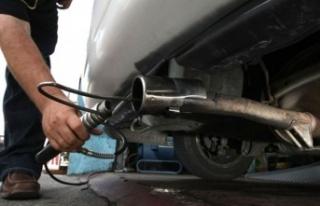 Egzoz emisyon ölçüm ücreti 50 TL olarak belirlendi