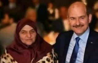 İçişleri Bakanı Süleyman Soylu'nun annesi...