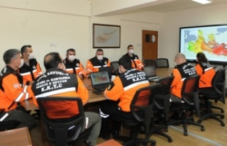 Sivil Savunma Teşkilatı tsunami tatbikatına katıldı