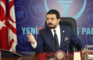 """ZAROĞLU: """"ARIKLI'NIN SÖYLEMLERİ NEDENİ İLE..."""