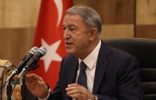 """Akar: """"Kıbrıs'ta iki devletli yapı artık..."""