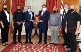 Başbakan Saner, Kktc Kempo Savunma Sporları Federasyonu...