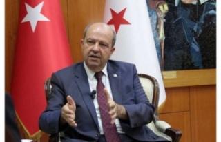 """Ersin Tatar'dan AB'ye çağrı: """"Kıbrıs konusunda..."""