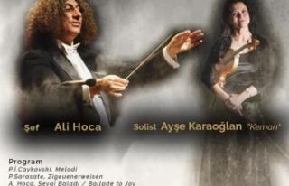 Güzelyurt Akm'deki Seyircisiz Konser Yerel Kanallar...