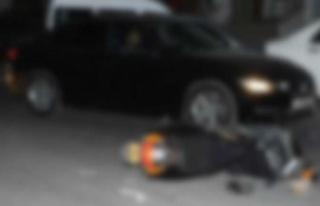 Lefkoşa'da kaza meydana geldi