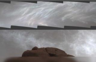 NASA'nın uzay aracı, Mars'ın ışıltılı...