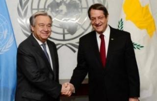 Anastasiadis 25 Haziran'da Brüksel'de BM Genel...