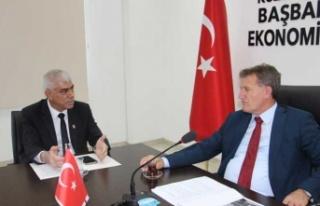 Arıklı Sanayi Odası Başkanı Kamacıoğlu'nu...