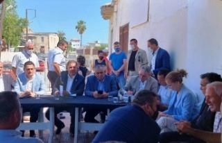 Başbakan Saner Geçitkale ve Serdarlı'yı ziyaret...