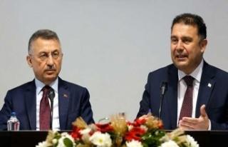 Başbakan Saner İle TC Cumhurbaşkanı Yardımcısı...