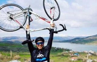 Bisikletiyle şarampole düşen araştırma görevlisi...