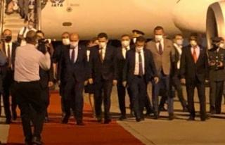Ersin Tatar KKTC'ye döndü!