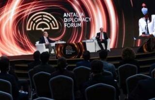 "Cumhurbaşkanı Tatar, ""Antalya Diplomasi Forumu""Nda..."