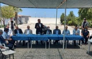 Cumhurbaşkanı Tatar ile Başbakan Saner, Tatlısu'da...