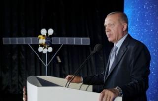 Erdoğan Türksat 5A Uydusu'nu hizmete aldı