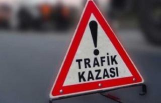 Gazimağusa -Karpaz Anayolu'nda kaza