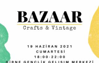 """GİGEM'DE """"CRAFTS & VİNTAGE BAZAAR""""ETKİNLİĞİ..."""