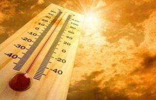 Hava Sıcaklığı En Yüksek 30-33 Derece Dolaylarında...