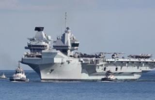 İngiltere'nin en büyük savaş gemisi Limasol'a...