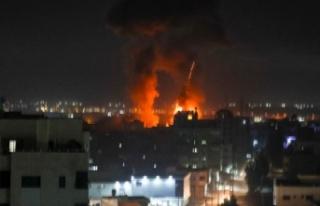 İsrail'den Gazze Şeridi'ne saldırı