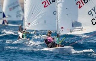 Kıbrıslı Rum yelkenci Marilena Makri altın madalya...