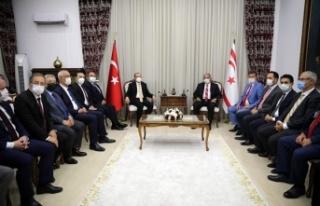 Sennaroğlu, Türkiye Ticaret Bakanı Muş'u Kabul...