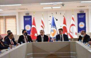 Türkiye Cumhuriyeti Ticaret bakanı DR. Mehmet Muş...