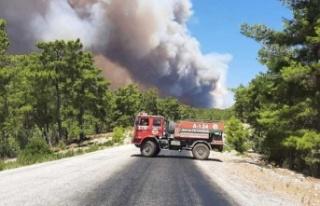 Antalya cayır cayır yanıyor