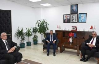 Bakan Çavuşoğlu, Karakoç Ve Karaca'yı Kabul...