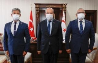 Cumhurbaşkanı Tatar, Karakoç İle Karaca'yı...