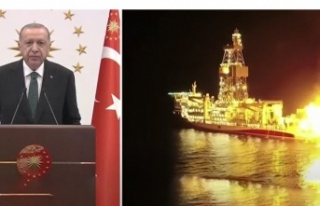 Erdoğan: Keşfettiğimiz gazın yanan ateşine iyi...