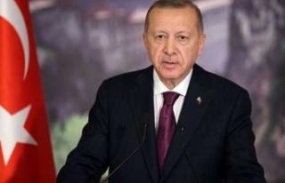 Erdoğan: 20 Temmuz'da geniş bir ekiple KKTC'de...