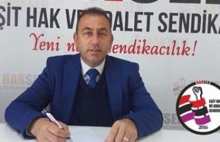 """Haksen Başkanı Büyükoğlu: """"Asgari Ücret Kamudaki..."""