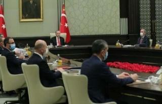 Kabine toplantısı başladı! Masada Kurban Bayramı...