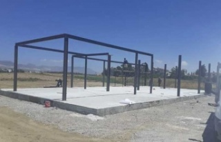 'Kıbrıs Engelliler Merkezi' binasının temeli...