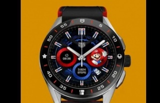 Lüks marka Tag Hauer'in Süper Mario temalı...