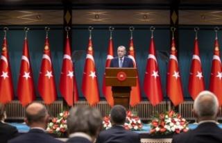 T.C. Cumhurbaşkanı Erdoğan'dan Kurban Bayramı...