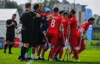 Ampute Futbol Milli Takımı yarı finalde!