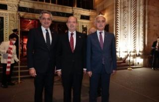 Cumhurbaşkanı Ersin Tatar, New York'ta düzenlenen...