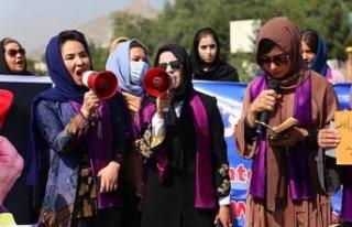 Kabil'de Kadınlar Sokağa Çıktı