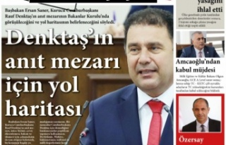KKTC Gazete Manşetleri / 06 Eylül 2021