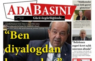 KKTC Gazete Manşetleri / 17 Eylül 2021