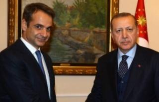 Yunanistan yalanladı: ABD'de Miçotakis ve Erdoğan...