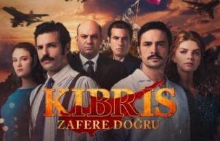 """""""Kıbrıs Zafere Doğru"""" Dizisinin Afişi Yayınlandı"""