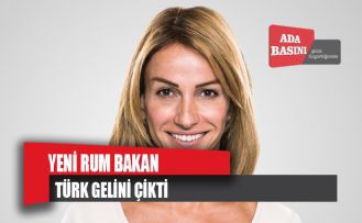 Yeni Rum Bakan Türk gelini çıktı