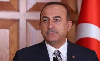 Türkiye Dışişleri Bakanı Çavuşoğlu, İdlib'de Şehit Olan Asker İçin Başsağlığı Diledi