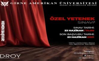 GAÜ Drama Ve Oyunculuk Bölümü Yetenek Sınavı, 23 Haziran'da Gerçekleşecek