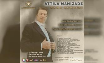 İlk Kıbrıslı Türk Opera Sanatçısı Manizade Cumartesi Konserle Anılıyor