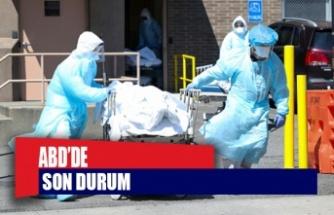 ABD'de koronavirüsten ölenlerin sayısı 158 bini geçti