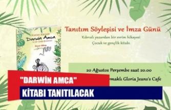 """DARWİN AMCA"" KİTABI TANITILACAK"